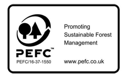 PEFC gecertificeerd cederhout